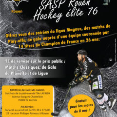 Convention SASP Rouen Hockey élite 76